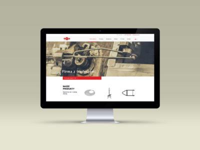 Realizacja strony www dla firmy Alruno