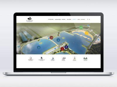 Realizacja strony www dla firmy Kuterport