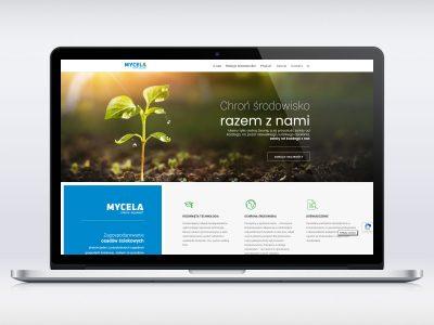 Realizacja strony www dla firmy Mycela