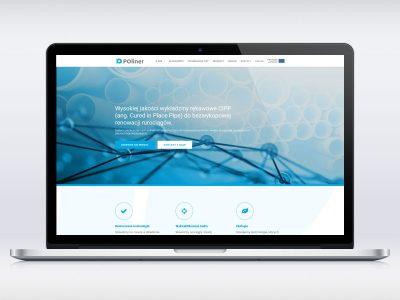 Realizacja strony www dla firmy POliner
